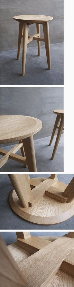 Оригинальный стул (стул анонимного переиздание серия 1) Mod Furniture, Furniture Design, Design Lab, Wood Design, Workshop Stool, Round Stool, Stool Chair, Wooden Stools, Furniture Inspiration