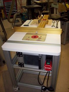 The Basement #7: New Incra Router Table - by JL7 @ LumberJocks.com ~ woodworking community