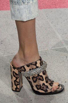 Carven, Paris Fashion Week - Spring 2017, animal print heels