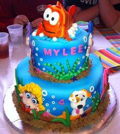 Bubble Guppie cake @Lisette Stuifzand Stuifzand Stuifzand Garcia