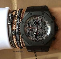 Audemars + Anil Arjandas jewels