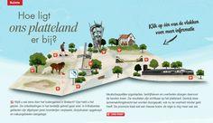 Hoe ligt ons platteland er bij? Bekijk de ontwikkelingen in het landelijk gebied. Holland, Magazine, Cover, Green, Nature, Inspiration, The Nederlands, Biblical Inspiration, Naturaleza