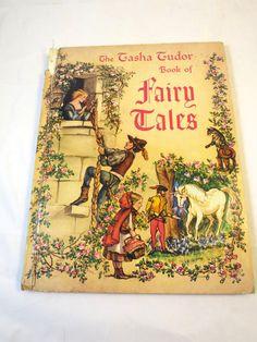 Tasha Tudor's Fairy Tales Book Tasha Tudor by BonniesVintageAttic