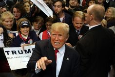 Donald Trump once again showed how, as president, he'd really elevate the tone in the United States and make our nati...