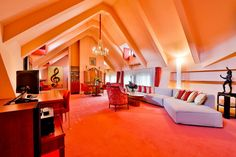 Smetana Suite at Aria Hotel Prague Castle, Atrium, Aria Rooms, Czech Republic, Charles Bridge, Alcoholic Beverages, Luxury, Bed, Restaurant