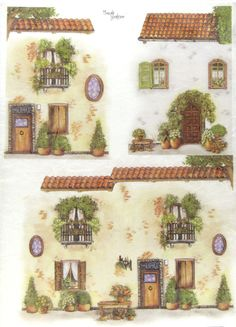 Ricepaper/ Decoupage, Scrapbooking Sheets / Craft Paper Windows