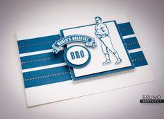 Bruno Bertucci | Stampin Up | stampinbruno | Stamp Review Crew | Guy Greetings | Sunburst Sayings | Handmade Card