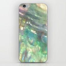 Rainbow abalone iPhone & iPod Skin
