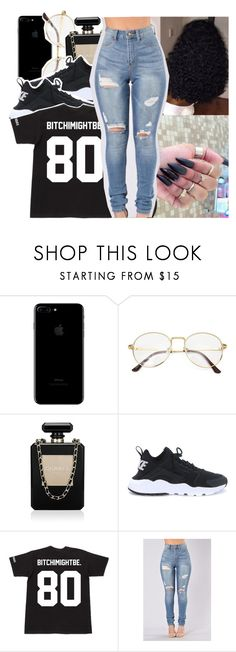 """✨"" by princessjolie ❤ liked on Polyvore featuring Chanel and NIKE"