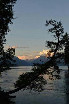 Lake McDonald Glacier Park, MT Lake Mcdonald, Glacier Park, Big Sky Country, North Dakota, British Columbia, Wyoming, Montana, Grand Canyon, Places To Go