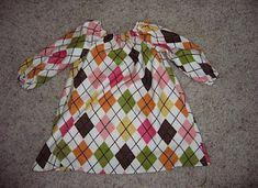 Long Sleeve Toddler Peasant Dress Tutorial