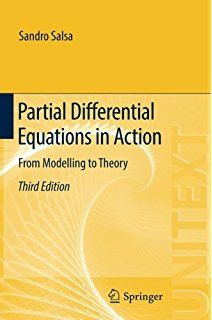 Partial differential equations in action : from modelling to theory Salsa, Sandro Switzerland : Springer, 2016 Novedades Agosto 2017