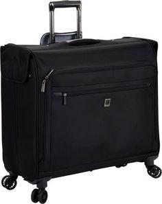 Delsey Helium X' Pert Lite 2.0 Spinner Trolley Garment Bag Black - via eBags.com!