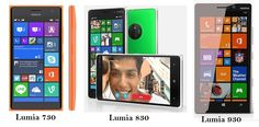 Microsoft launches Nokia Lumia 730, 830 and 930 smartphones in India