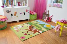 Voor alle liefhebbers van een boskamer kinderkamer, is dit allernieuwste Arte Espina speelkleed een gewéldige sfeermaker! | NEW: Cute Forrest Friends kids room rug - Dutch Design rugs http://www.speelkledenwinkel.nl/arte-espina-kinderkamer-vloerkleed-bosvrienden.html