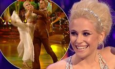 Pixie Lott soars to top of Strictly scoreboard with 'gorgeous' waltz