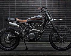 Yamaha XT600 #tracker by @jambonbeurremotorcycle of Paris. : @olivierrosephotography