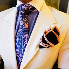 Navy Blue with Pink Signature Border.