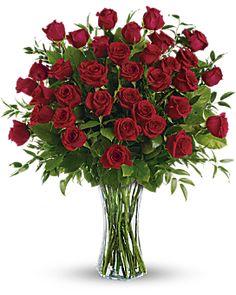 Breathtaking Beauty - 3 Dozen Long Stemmed Roses Bouquet - Teleflora