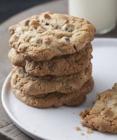 Nutty, Chocolaty Rosemary Cookies: cooking with herbs from the garden