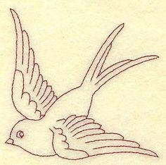 Image result for swallow applique pattern