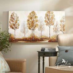 Diy Tree Painting, Dot Art Painting, Watercolor Art, Gold Leaf Art, Coffee Painting, Art Decor, Home Decor, Furniture Decor, Landscape Paintings
