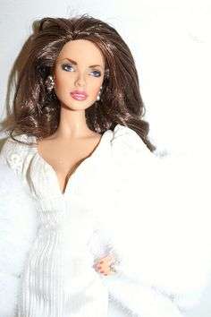 Beautiful Jennifer O'Neill Collector Doll by Donna Brinkley | Flickr - Photo Sharing!