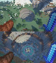 Minecraft Banners, Minecraft Plans, Minecraft Survival, Minecraft Art, Minecraft Tutorial, Minecraft Blueprints, Cool Minecraft Houses, Minecraft Creations, Minecraft Memes