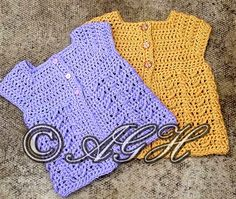 AG Handmades: Catie's Cardi ~ 0-3 months; 6-12 months free pattern