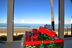 Getting festive at The Shores! This is the best time of the year! Crisp clear weather brings views like these ;) #HappyHolidays