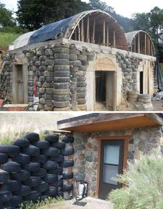 tire-building-5 I wanna build a shed like this someday..or maybe a mancave! lol