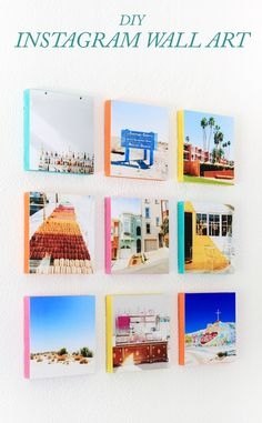 Learn how to turn your Instagram photos into wall art! Only takes a half hour and cost less than $30.