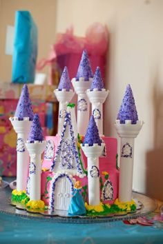 Sand+Castle+Cake | Castle cakes