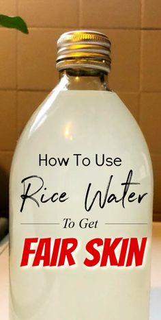 How To Use Rice Water To Get Fair Skin At Home rice ricewater skin beauty beautytips skincare fairskin clearskin glowingskin selfcare skinwhiteningdiy selfcaretips Beauty Tips For Girls, Daily Beauty Tips, Beauty Tips For Hair, Natural Beauty Tips, Natural Skin Care, Beauty Hacks, Diy Beauty, Beauty Secrets, Homemade Skin Care