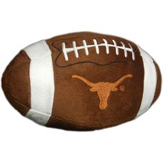 NCAA Texas Longhorns Football Pillow