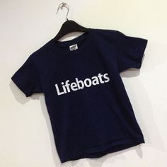 CHILDRENS LIFEBOATS T-SHIRT - £7.50 with FREE UK delivery. This childrens crew neck t-shirt comes printed to order with the Lifeboats Slogan. www.esopersonalise.co.uk