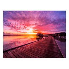 Sunset on Maldives Island Water Villas Resort Postcard - Products - Holiday Maldives Villas, Water Villa, Beach Pictures, Beach Pics, Resort Villa, Disney Cruise, Beautiful Sunset, Beach Trip, Trip Planning