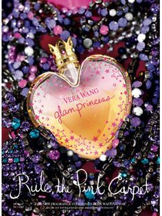 Vera Wang's Glam Princess fits it's name very well. It's scent is fun, girly, and vibrant! It reminds me of dancing and having a good time, and I think it's perfect for parties!