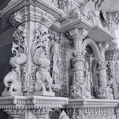 Mandir # 12 by Allen Beatty Indian Temple Architecture, Religious Architecture, Historical Architecture, English Novels, Jain Temple, India Art, Incredible India, The Incredibles, Statues
