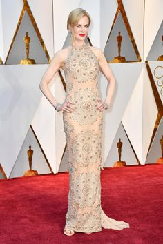 Nicole Kidman in Armani Privé at the 89th Annual Academy Awards. Photo: Frazer Harrison/Getty Images.
