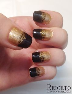 Celtic Knot nail design by Reiceto on DeviantArt
