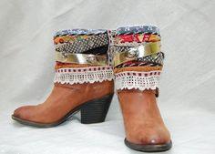 Elizabeth   Boho Accents, Ankle Art, Boho Boot Accents -  www.bohoaccents.com