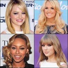 For Blonde Ambition, Four Shades of Flaxen