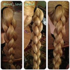 Braided Ponytails: Hair Inspiration From Instagram   Beauty High