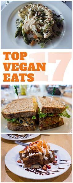 Top Vegan Eats of 2017: The best vegan eats I had while traveling this year! #vegan #travel