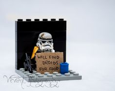Lego Star Wars Stormtrooper Matted and Signed by VivantPhotography, $25.00