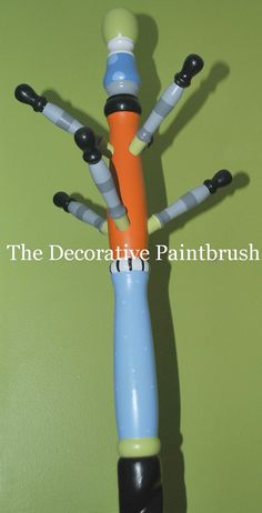 Children's Painted Coat Rack Painted Coat by TheDecorativeBrush, $175.00
