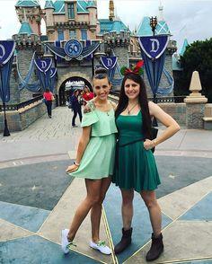 Tinkerbell and Peter Pan Run Disney, Disney Fun, Disney Style, Princess Running Costume, Running Costumes, Peter Pan And Tinkerbell, Disney Bound Outfits, Disney World Vacation, Disneyland