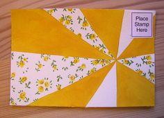 pinwheel mailart by robayre