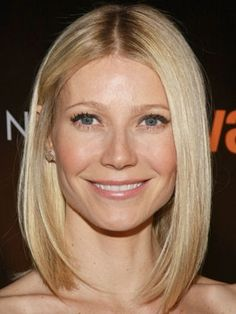 5 Medium-Length Celebrity Hairstyles We Love gwenyth paltrow classic bob Growing Out Short Hair Styles, Medium Hair Styles, Long Hair Styles, Celebrity Hairstyles, Bob Hairstyles, Straight Hairstyles, Party Hairstyles, Wedding Hairstyles, Gwyneth Paltrow